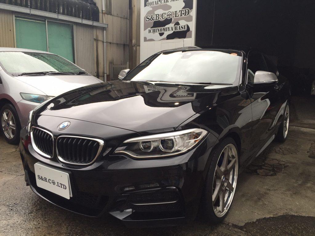 BMW M235i納車致しました。