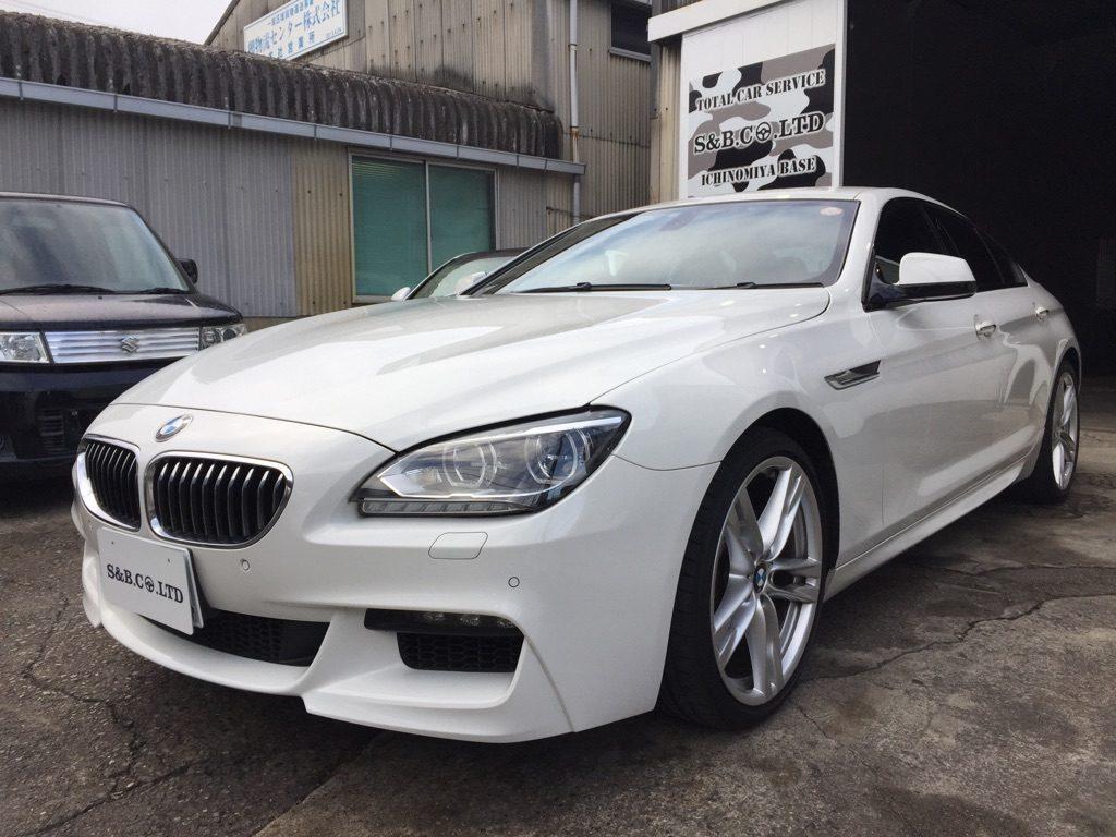 BMW6グランクーペ納車致しました。
