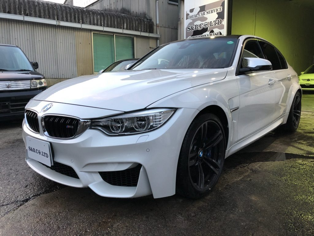 BMW M3納車致しました。