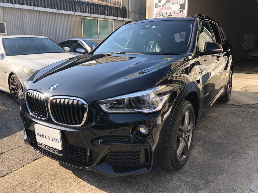 BMW X1納車致しました。