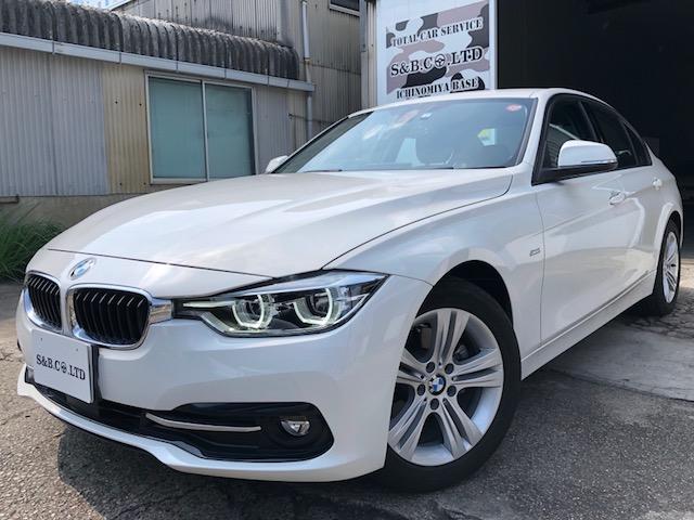 お盆休みのお知らせ、BMW320Dスポーツライン入庫致しました。