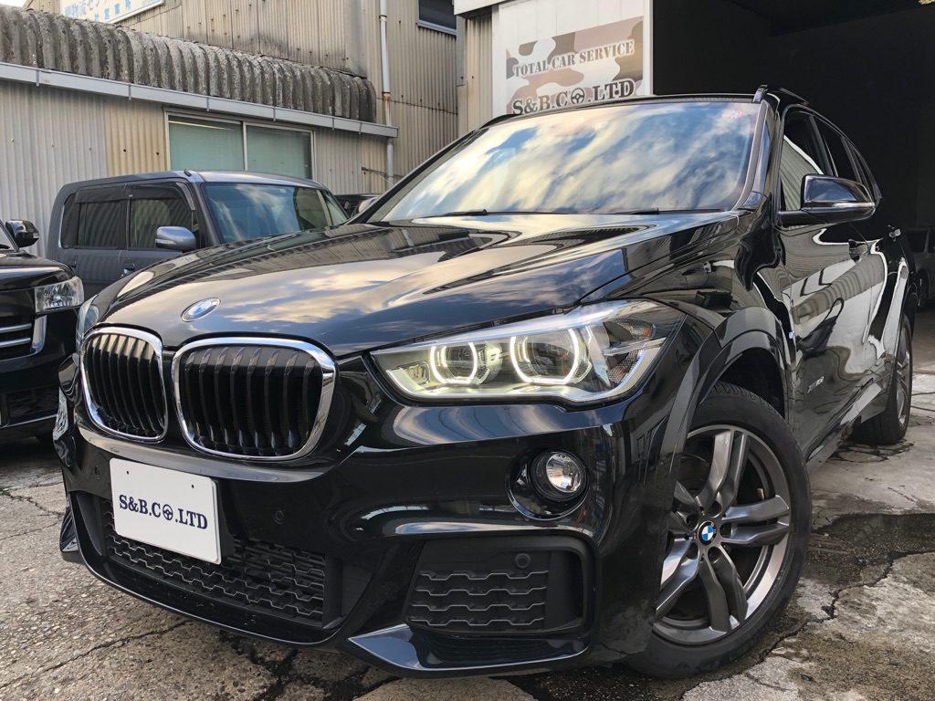 BMW X1 Mスポーツ買取車両入庫致しました。